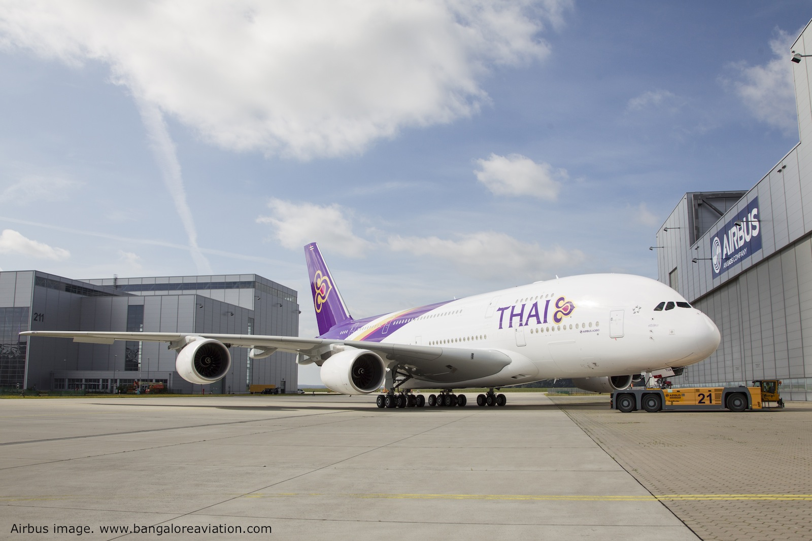 Thai Airways A380 livery