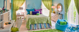 Beautiful Lime Green Bedrooms Design