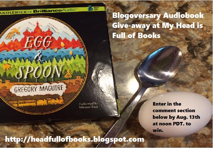 Blogoversary Giveaway