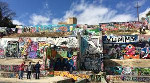 Castle Hill, HOPE Outdoor Gallery, in Austin, Texas.