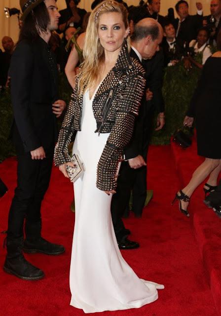 Sienna Miller Met Ball 2013