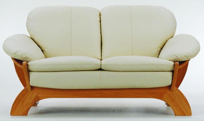 Designer sectional sofas with exposed wood sofa design - Sofas tapizados modernos ...