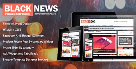 BlackNews Themeforest Magazine Premium Blogger-bwtemplate blogs