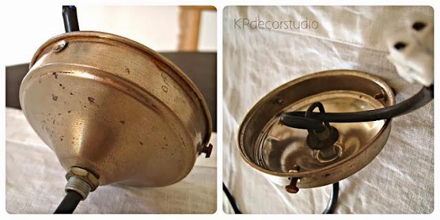 Lámparas antiguas listas para colocar, restauradas, en buen estado, online