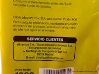 """PIMAD (filial de Bimbo) fabrica el Pan de molde """"Producto Económico Alcampo"""" (también conocido como """"Primer Precio"""" o """"del pulgar"""")"""
