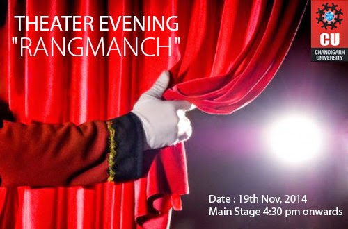 Theater Evening - RangManch (Chandigarh University)