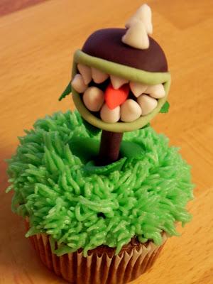 Plants Vs. Zombies Cupcakes MommaDandDaBoyz.net