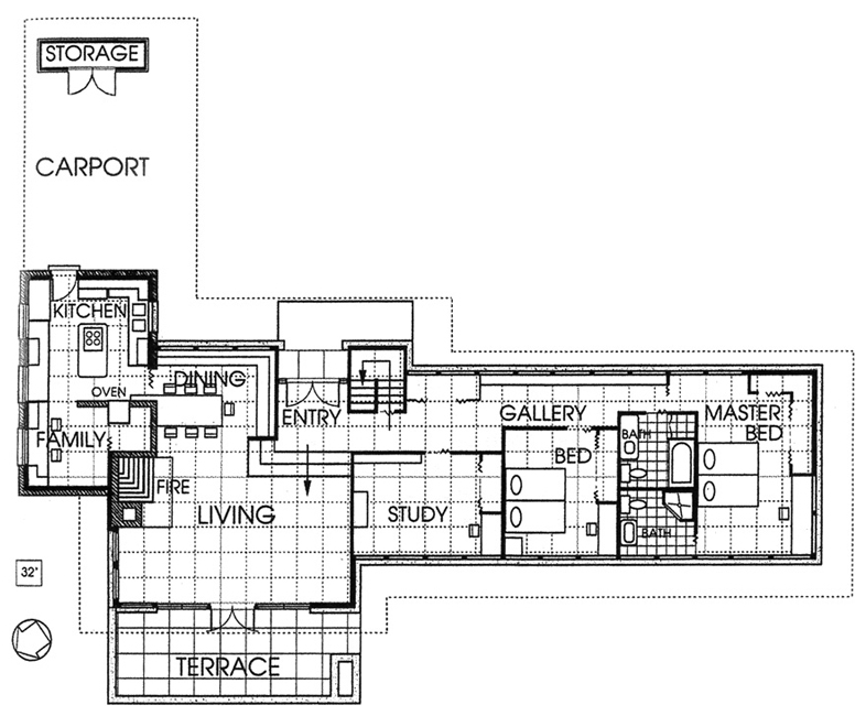 Zimmerman house plan House interior