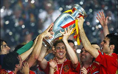 Spagna Campione d'Europa Euro 2008