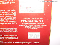 Masa de hojaldre HACENDADO fabricada por CONGALSA