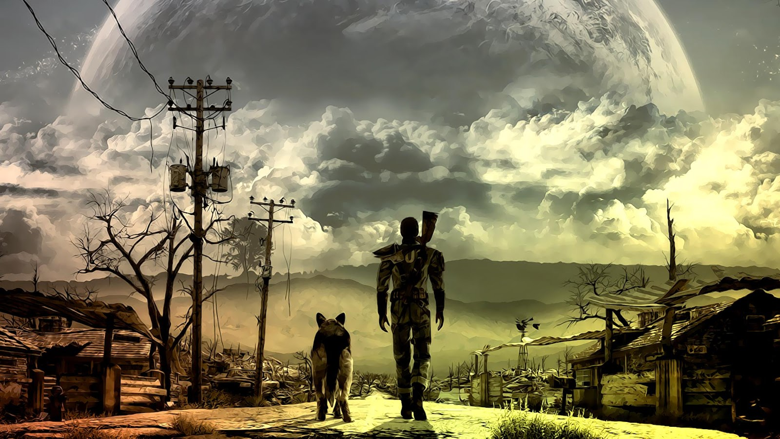 Gaming blog fallout game story background part 1
