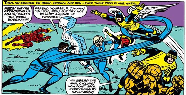 Crossover X-Men Vs Fantastic Four