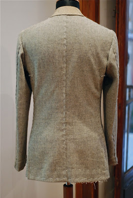 Elia Caliendo: tweed jacket