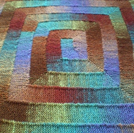 Ten Stitch Blanket - Free Pattern