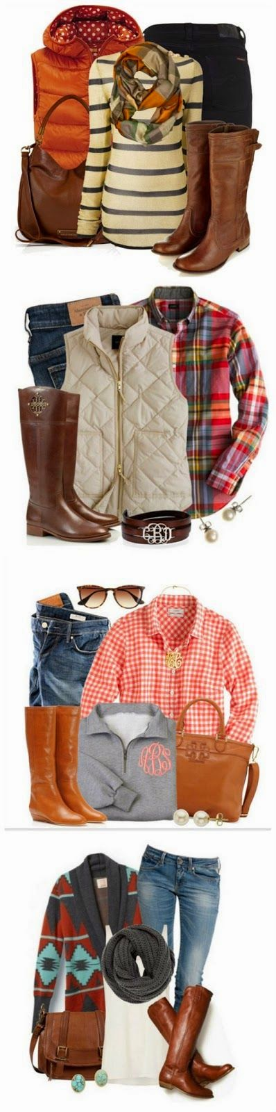 4 awesome outfits
