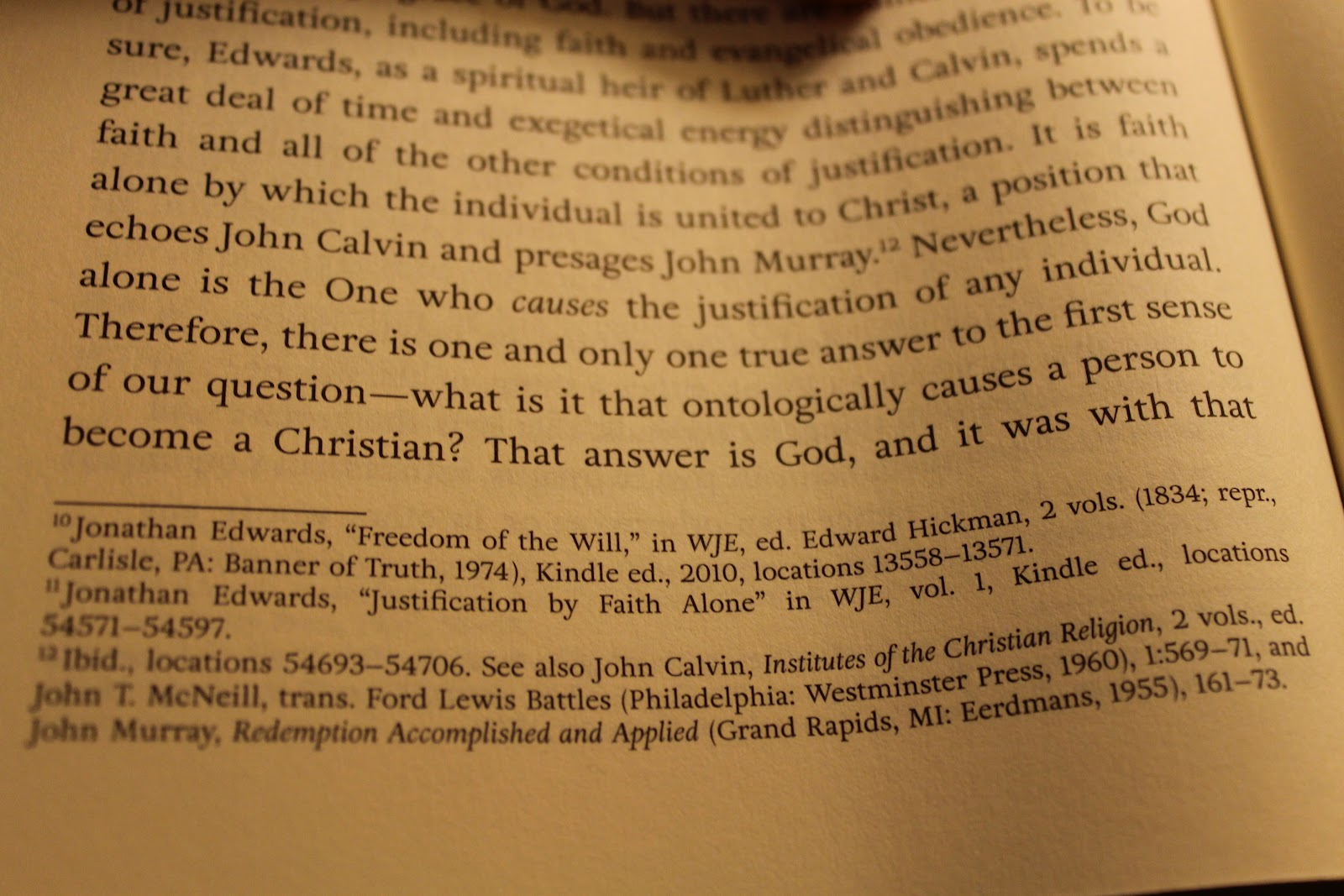 Bring the books 2012 look at these citations from footnotes 10 and 11 in jonathan edwards and justification edited by josh moody the kindle has been out since 2007 fandeluxe Image collections