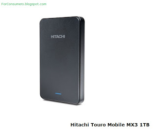 Hitachi Touro portable hard drive