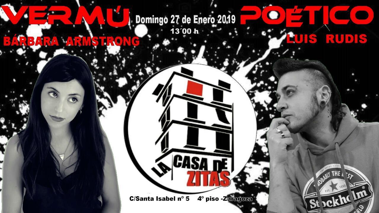 Próximos eventos- Vermú Poético Domingo 27 de Enero 2019