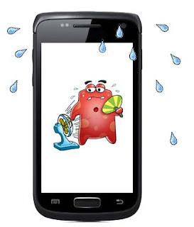 Android kepanasan