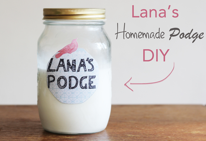 L a n a r e d s t u d i o lana 39 s podge diy for Mod podge recipe