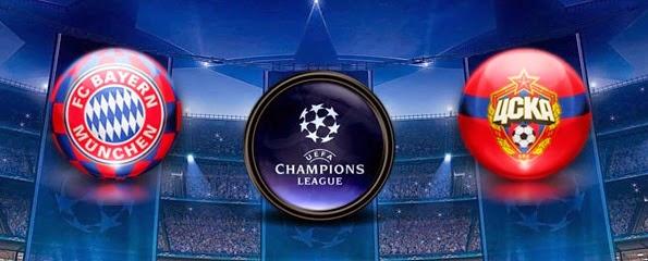 Bayern Munchen Vs CSKA Moscow