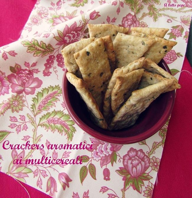 crackers aromatici ai multicereali... il contest di molino grassi