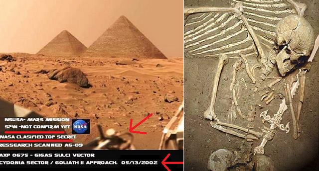 Μυστικά αρχεία CIA: Πως η αμερικανική υπηρεσία προσπάθησε να μάθει ποιοι κατοικούσαν στον πλανήτη Άρη πριν 1 εκατ. χρόνια!