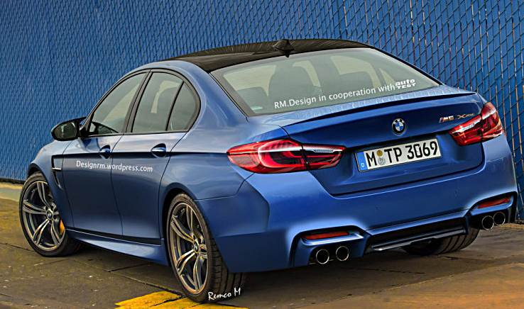 2018 bmw m5 rendering auto bmw review