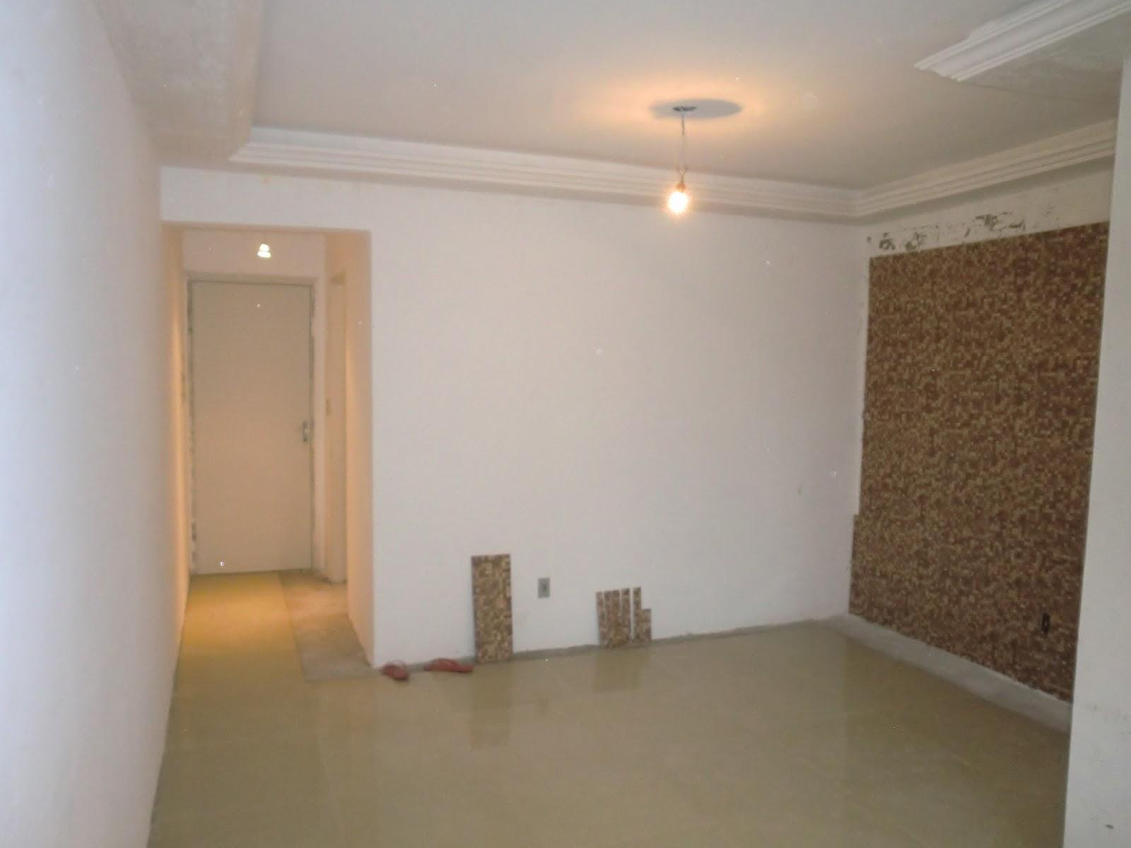 Porcelanato Na Sala Escada Revestida De Porcelanato Com Padro De  -> Sala Com O Piso Porcelanato Polido Cinza
