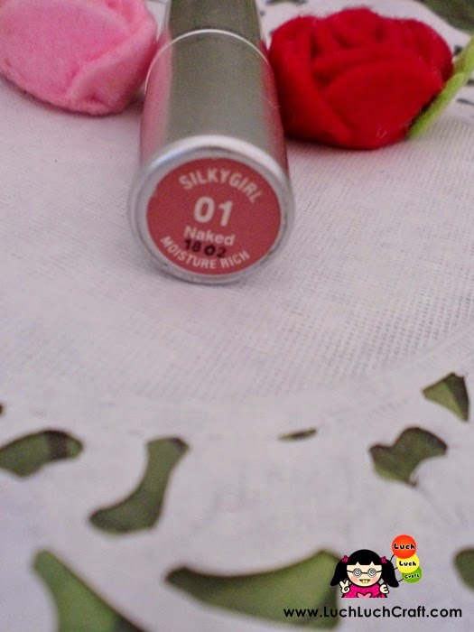 review silky girl lipstick