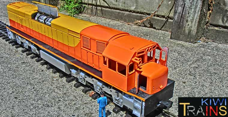 New Zealand Railway Models (Kiwi Trains)
