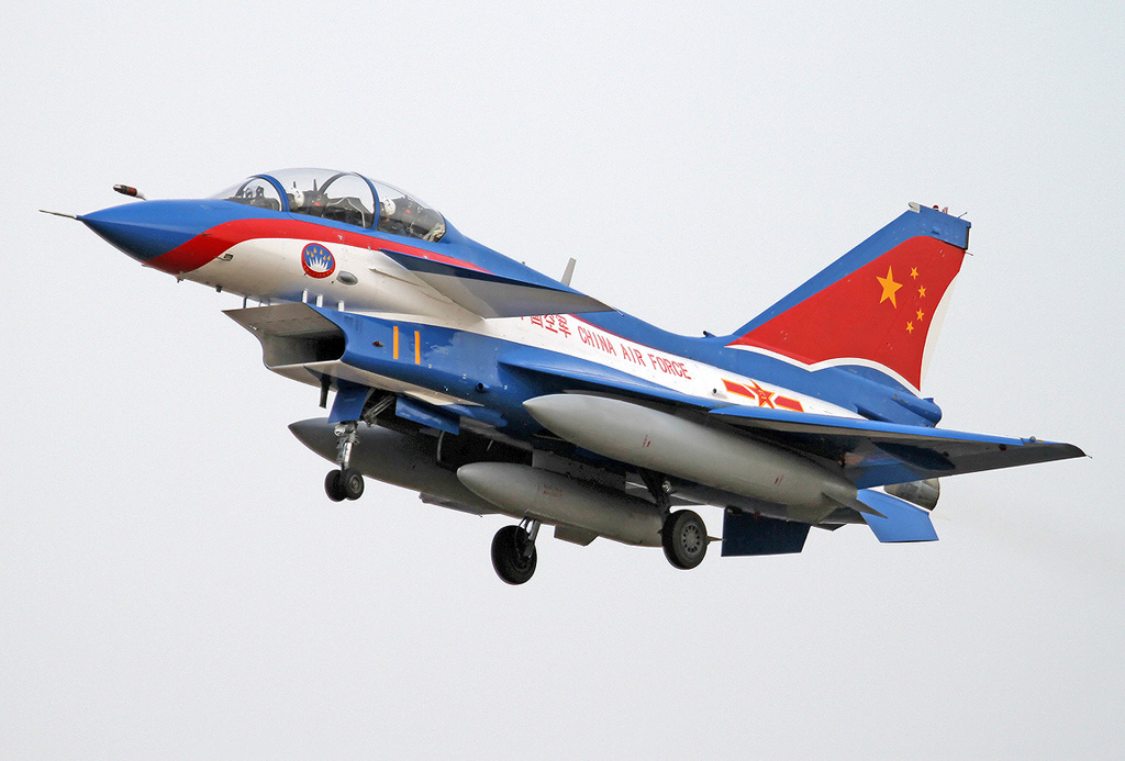 Global War Birds: Chengdu J-10