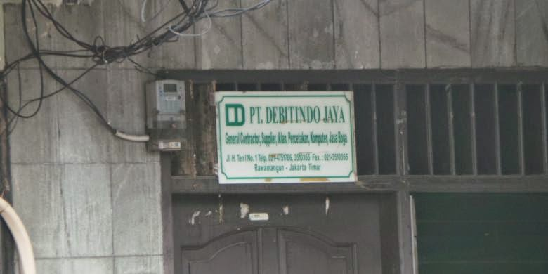 PT Bodongan bikinan DPRD DKI Jakarta Part 3 Jakarta - PT Debitindo Jaya