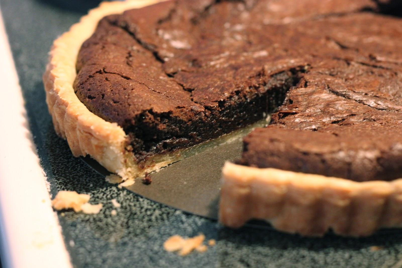 ... fudge tarts easy and beautiful this tart double chocolate fudge tart