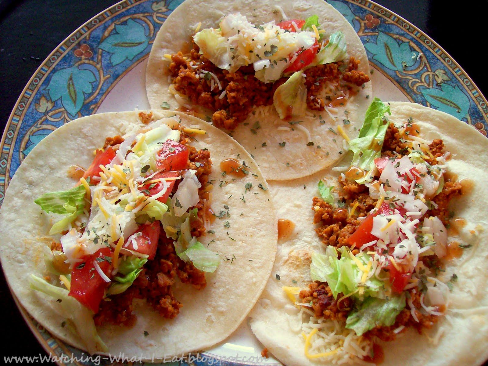 TVP Soft Tacos  amp  Enchiladas   make a vegetarian fiesta Soft Tacos