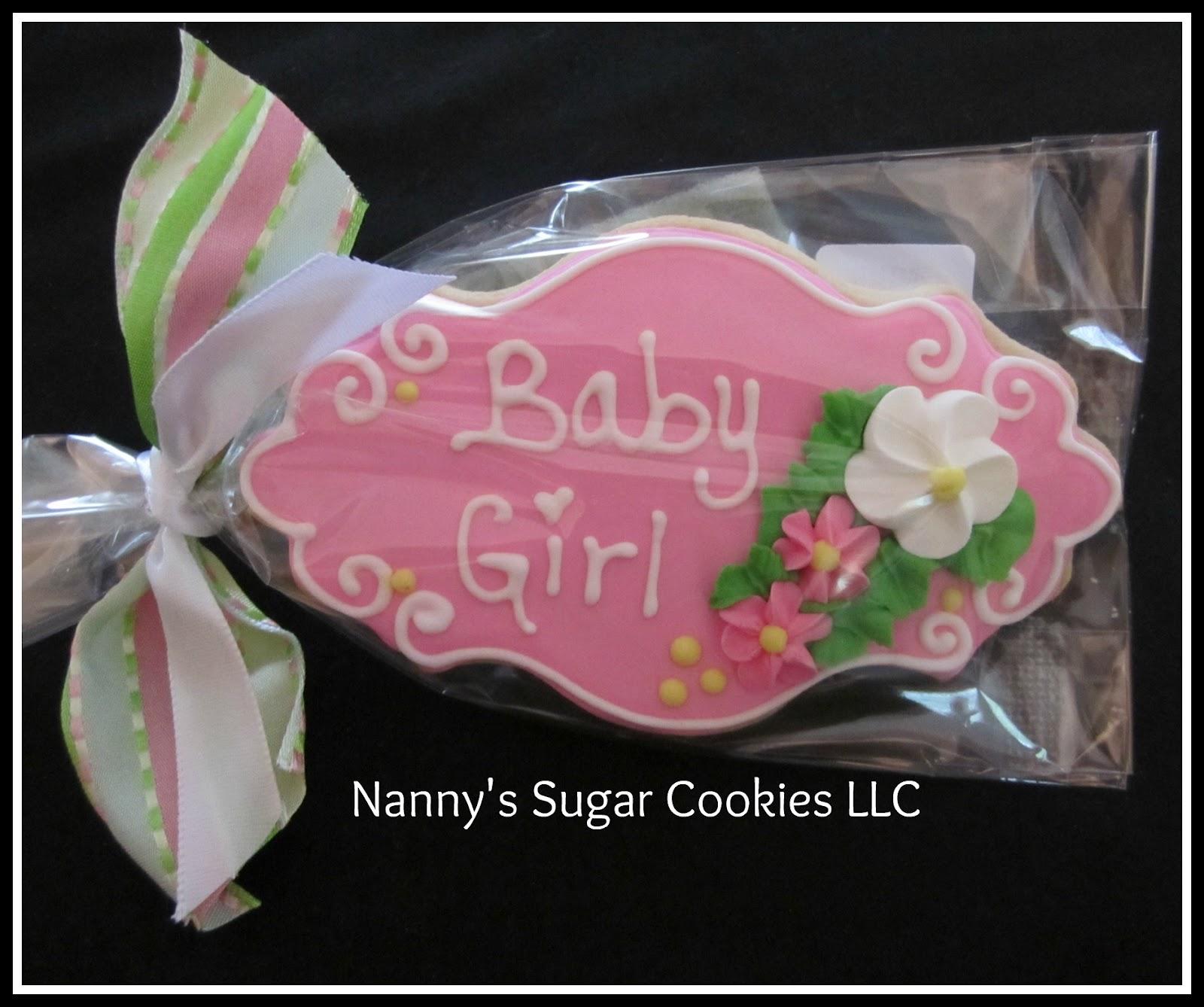 Baby Shower Cookies... Nannyu0027s ...