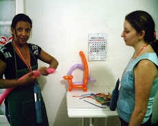 Curso de Esculturas de Balões
