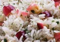 Foto do arroz refrescante - uma das receitas Réveillon 2016 à 2016