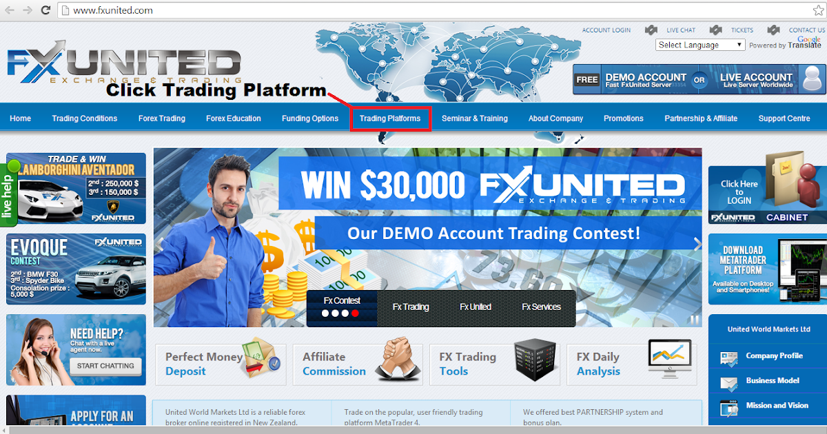 Cahaya Trader Forex: Tutorial 4 - How to open a Demo Account using ...