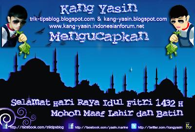 Kartu Ucapan Selamat Lebaran Hari Raya Idul Fitri
