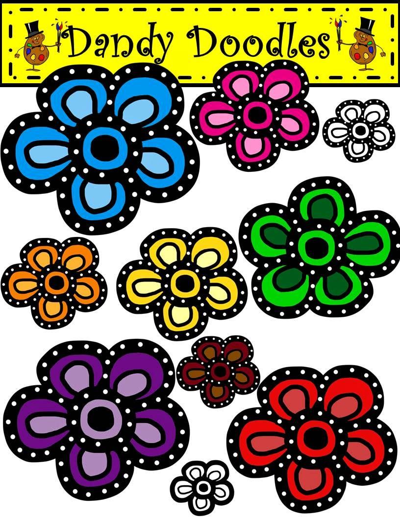 https://www.teacherspayteachers.com/Product/Burst-of-Blooms-FREEBIE-Clip-Art-by-Dandy-Doodles-1658491