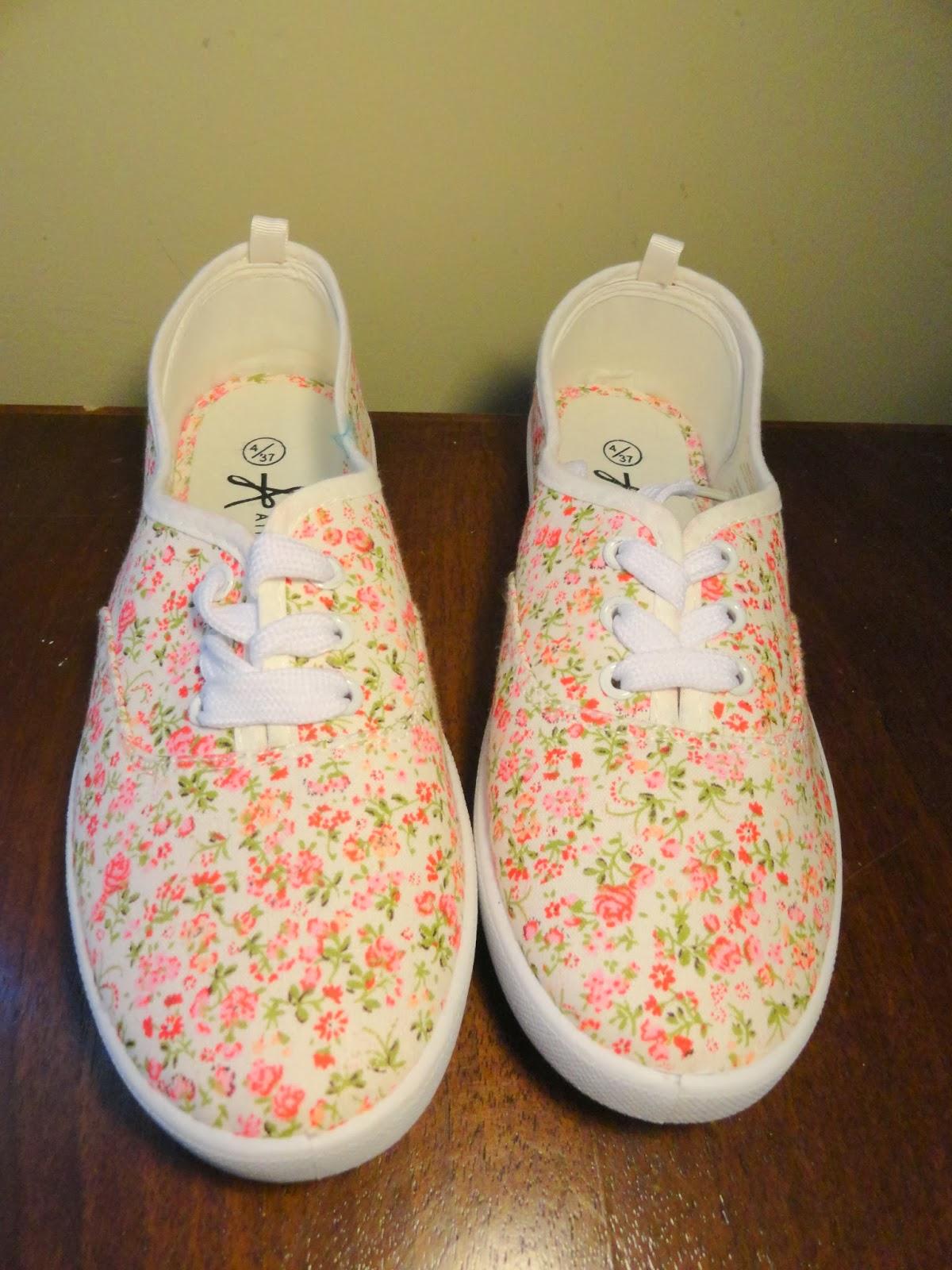 Clothes & Dreams: Shoplog: Primark: floral shoes