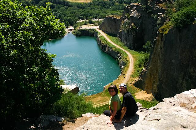 Jezioro tektoniczne na Bornholmie