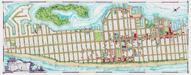 Coastal Art Maps
