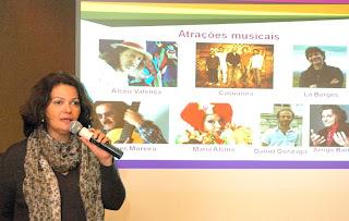 Maria José Gouvêa, coordenadora técnica de cultura do SESC Rio: artistas locais fazem parte do circuito