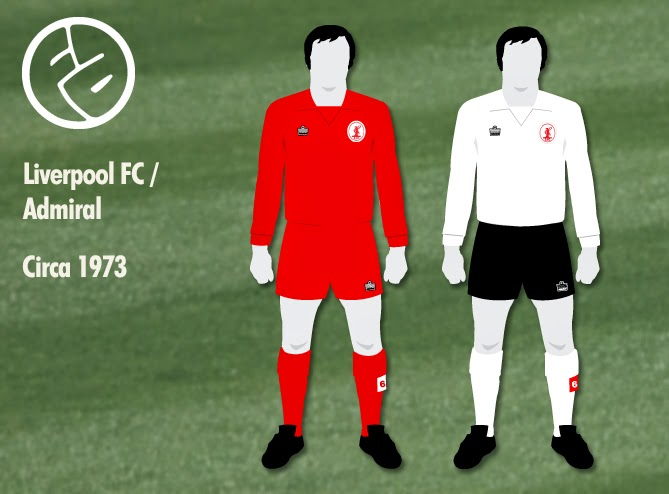 Fantasy Nostalgia  Liverpool wear Admiral ~ The Football Attic c62014374