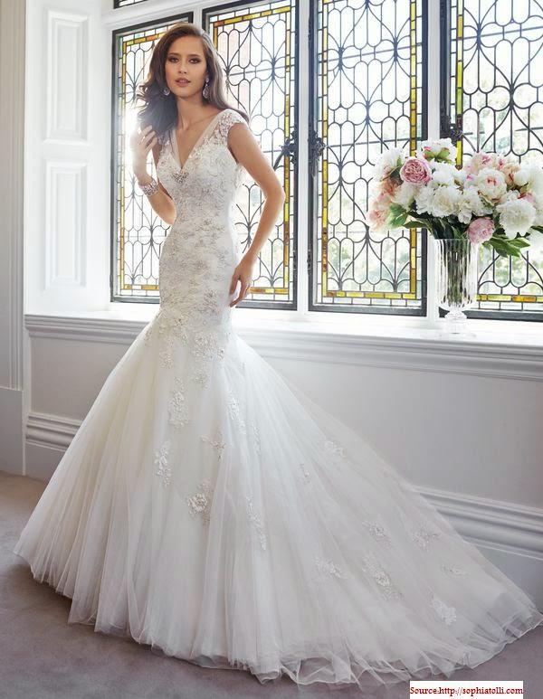 Modèle robe de mariée chic 2014