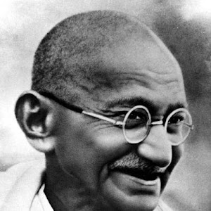 "My Inspiration is ""Mahatma Gandhi"""