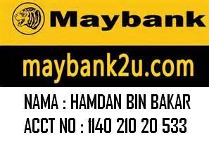 Boleh Bank In Di MAYBANK BHD