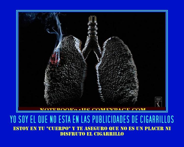 EN LAS PUBLICIDADES DE CIGARRILLOS -TODOS SALEN DISFRUTANDO EL AIRE, LA BUENA VIDA-LUJOS-ETC